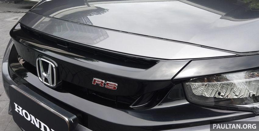 DRIVEN: 2020 Honda Civic facelift – same, but more Image #1086994