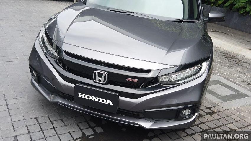 DRIVEN: 2020 Honda Civic facelift – same, but more Image #1086995
