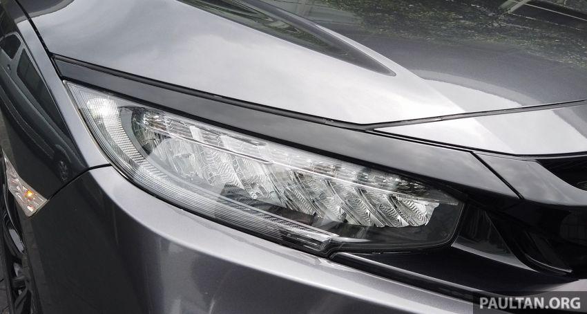 DRIVEN: 2020 Honda Civic facelift – same, but more Image #1086997