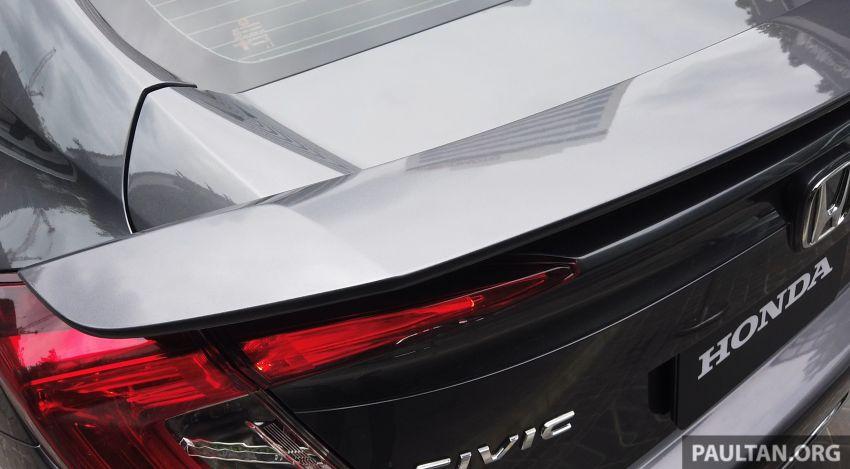 DRIVEN: 2020 Honda Civic facelift – same, but more Image #1086999
