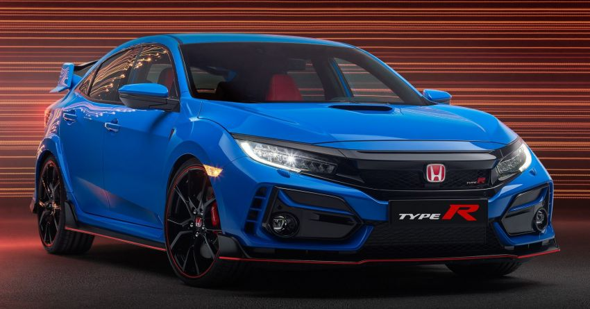 2020 Honda Civic Type R Limited Edition revealed – 47 kg lighter, limited units; new Sport Line joins range Image #1085016
