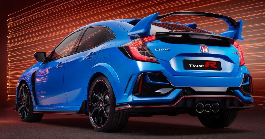 2020 Honda Civic Type R Limited Edition revealed – 47 kg lighter, limited units; new Sport Line joins range Image #1085017