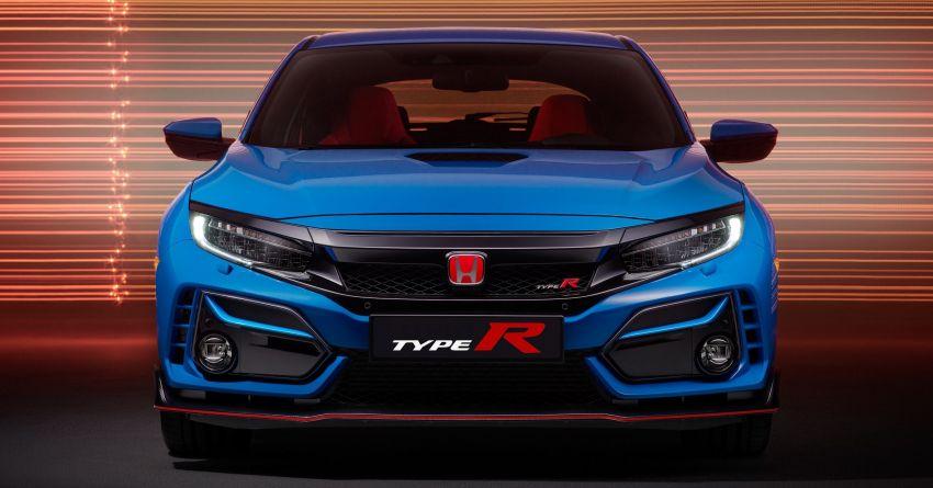 2020 Honda Civic Type R Limited Edition revealed – 47 kg lighter, limited units; new Sport Line joins range Image #1085018