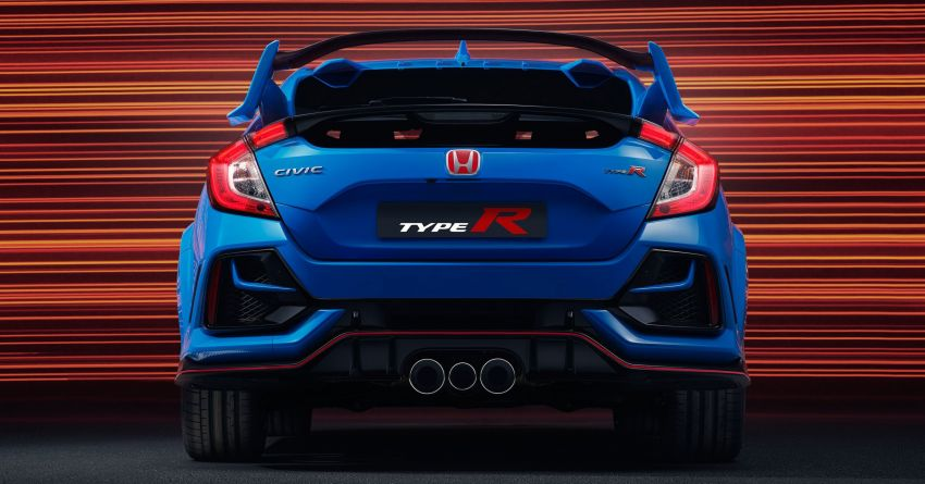 2020 Honda Civic Type R Limited Edition revealed – 47 kg lighter, limited units; new Sport Line joins range Image #1085020