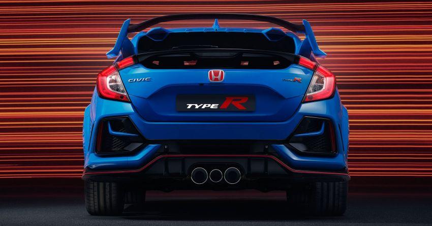 2020 Honda Civic Type R Limited Edition revealed – 47 kg lighter, limited units; new Sport Line joins range Image #1085020