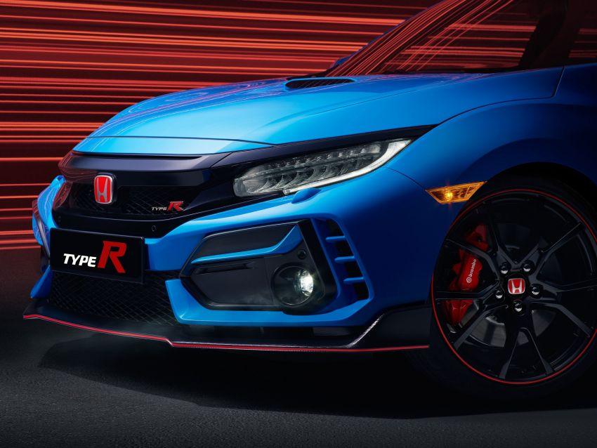2020 Honda Civic Type R Limited Edition revealed – 47 kg lighter, limited units; new Sport Line joins range Image #1085021