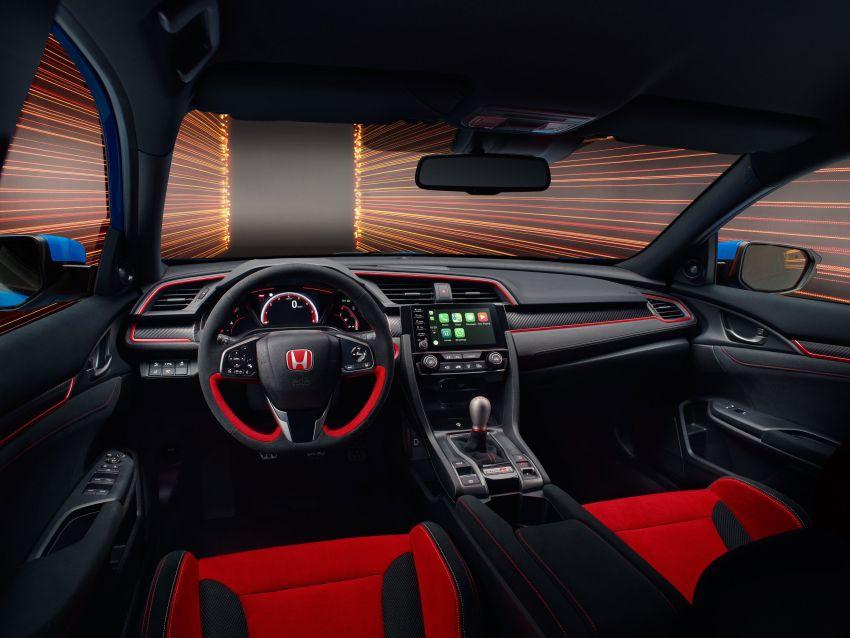 2020 Honda Civic Type R Limited Edition revealed – 47 kg lighter, limited units; new Sport Line joins range Image #1085022