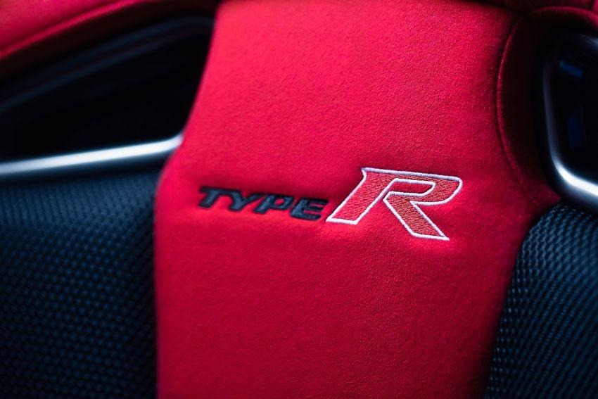 2020 Honda Civic Type R Limited Edition revealed – 47 kg lighter, limited units; new Sport Line joins range Image #1085023