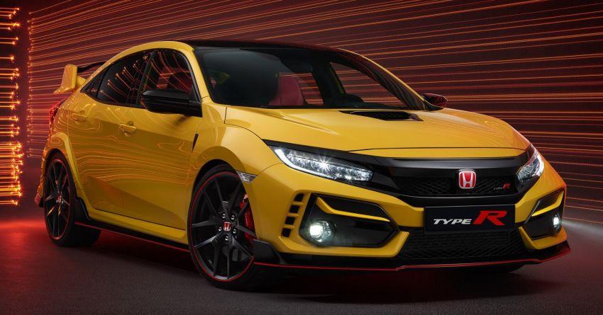 2020 Honda Civic Type R Limited Edition revealed – 47 kg lighter, limited units; new Sport Line joins range Image #1084959