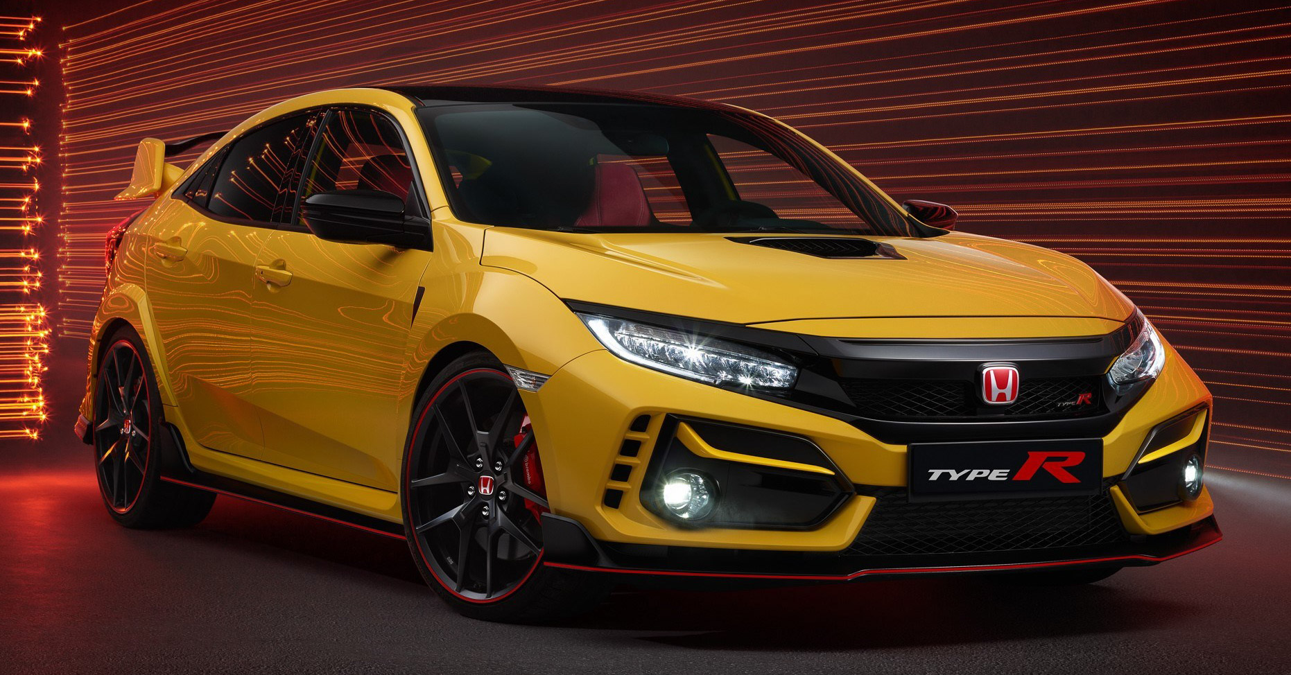 2020 Honda Civic Type R Limited Edition Revealed 47 Kg Lighter Limited Units New Sport Line Joins Range Paultan Org