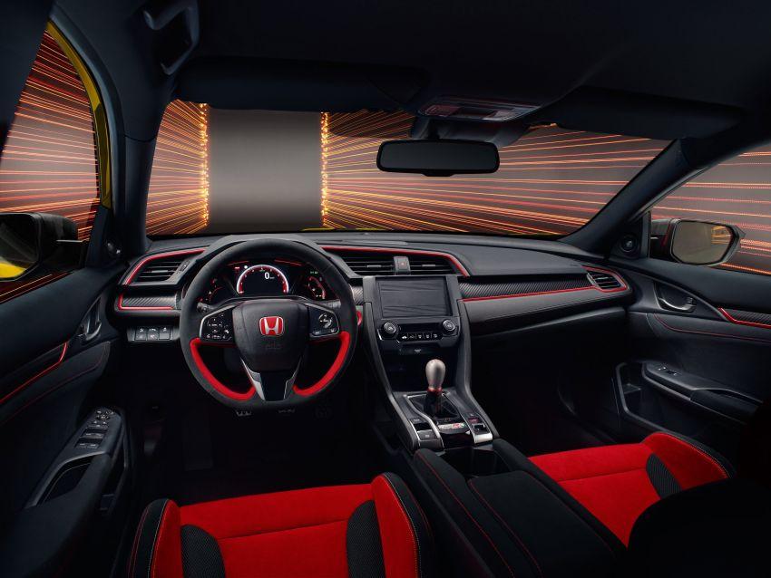 Honda Civic Type R Limited Edition 2021 diperkenal – FK8 paling <em>hardcore</em>, jelmaan semula EK9 Type R Image #1085046