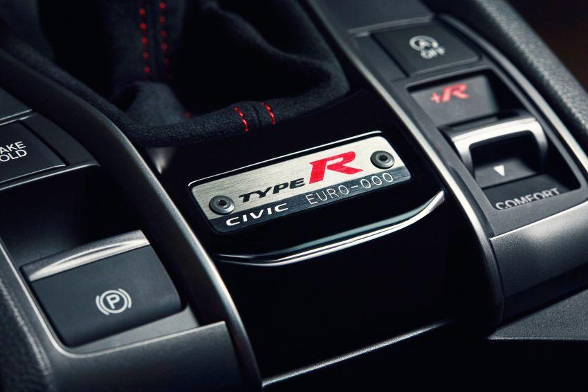 2020 Honda Civic Type R Limited Edition revealed – 47 kg lighter, limited units; new Sport Line joins range Image #1084980