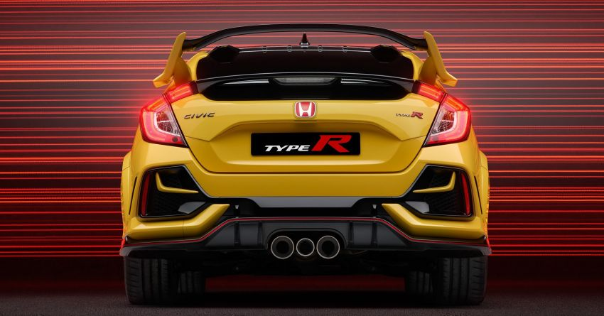 Honda Civic Type R Limited Edition 2021 diperkenal – FK8 paling <em>hardcore</em>, jelmaan semula EK9 Type R Image #1085053