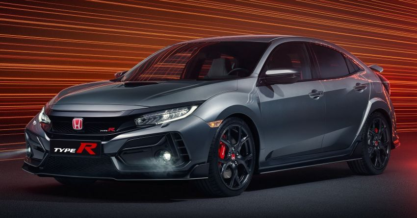 2020 Honda Civic Type R Limited Edition revealed – 47 kg lighter, limited units; new Sport Line joins range Image #1084990