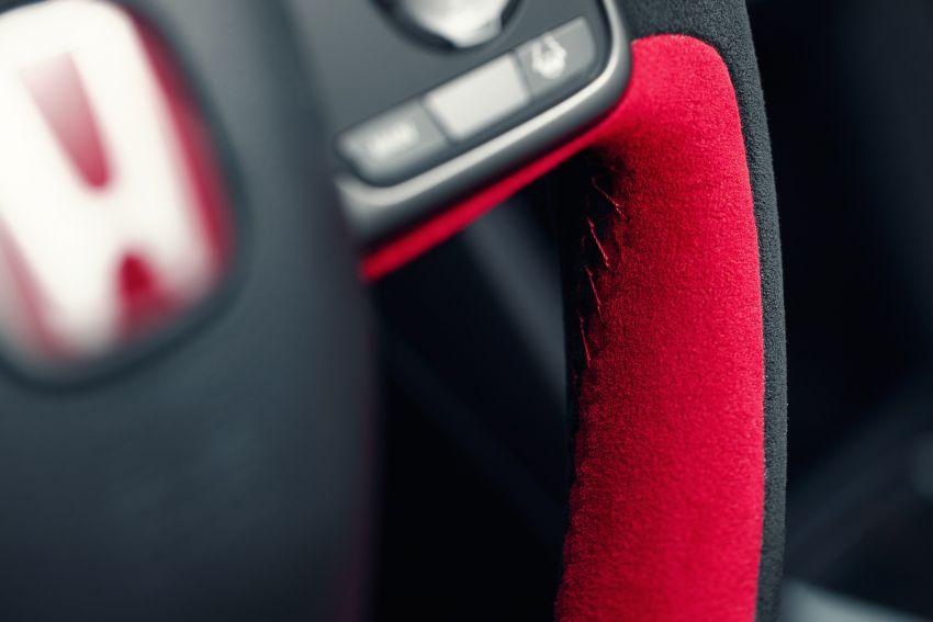 2020 Honda Civic Type R Limited Edition revealed – 47 kg lighter, limited units; new Sport Line joins range Image #1085013