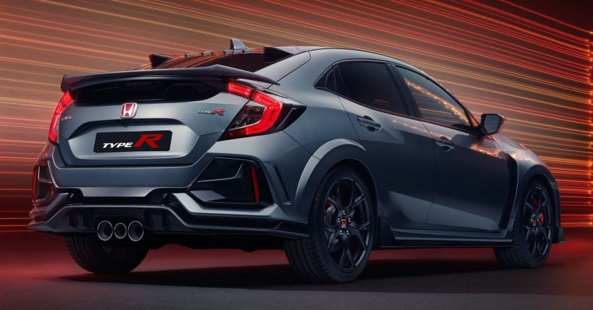 2020 Honda Civic Type R Limited Edition revealed – 47 kg lighter, limited units; new Sport Line joins range Image #1084992
