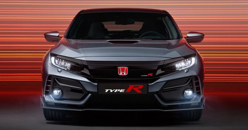 2020 Honda Civic Type R Limited Edition revealed – 47 kg lighter, limited units; new Sport Line joins range Image #1084994