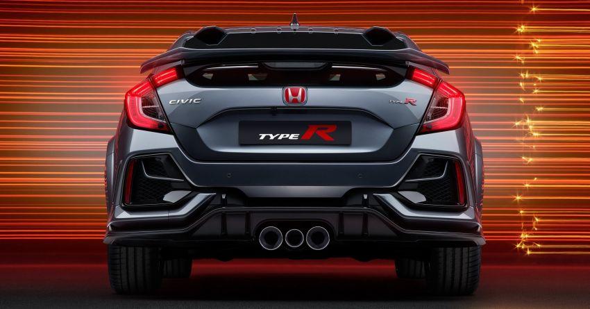 2020 Honda Civic Type R Limited Edition revealed – 47 kg lighter, limited units; new Sport Line joins range Image #1084995