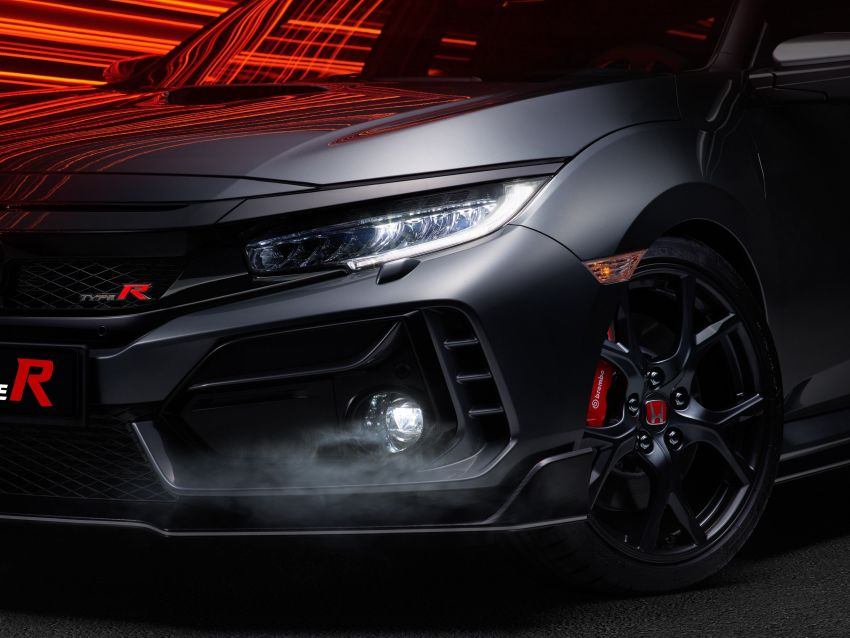 2020 Honda Civic Type R Limited Edition revealed – 47 kg lighter, limited units; new Sport Line joins range Image #1084997