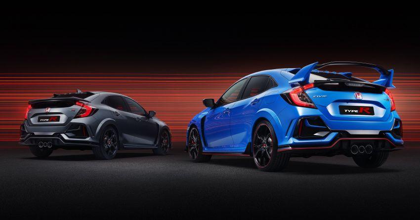 2020 Honda Civic Type R Limited Edition revealed – 47 kg lighter, limited units; new Sport Line joins range Image #1084954
