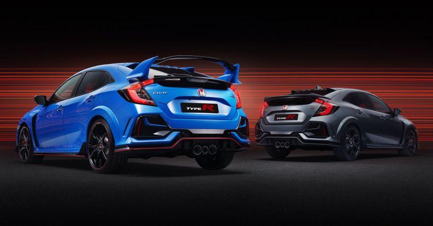 2020 Honda Civic Type R Limited Edition revealed – 47 kg lighter, limited units; new Sport Line joins range Image #1084956