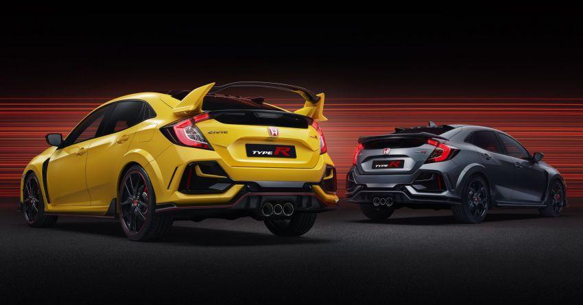 2020 Honda Civic Type R Limited Edition revealed – 47 kg lighter, limited units; new Sport Line joins range Image #1084957