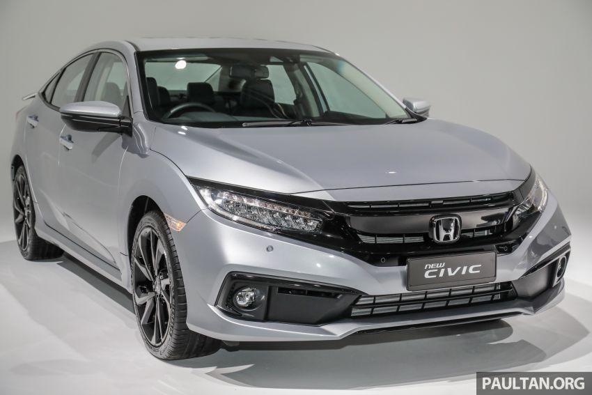 2020 Honda Civic facelift debuts in Malaysia – three variants, 1.8 NA and 1.5 Turbo, RM114k to RM140k Image #1087822