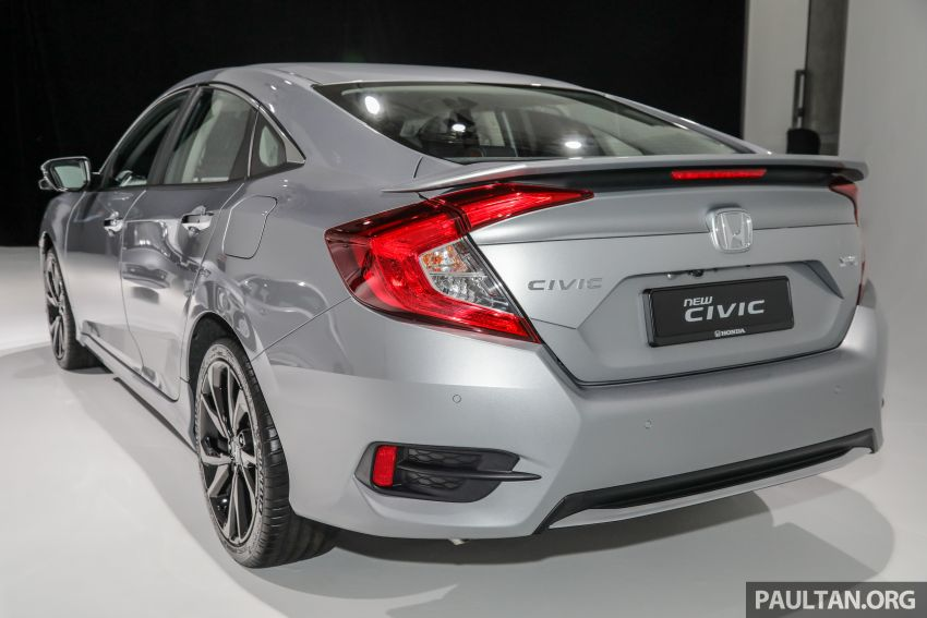 2020 Honda Civic facelift debuts in Malaysia – three variants, 1.8 NA and 1.5 Turbo, RM114k to RM140k Image #1087823