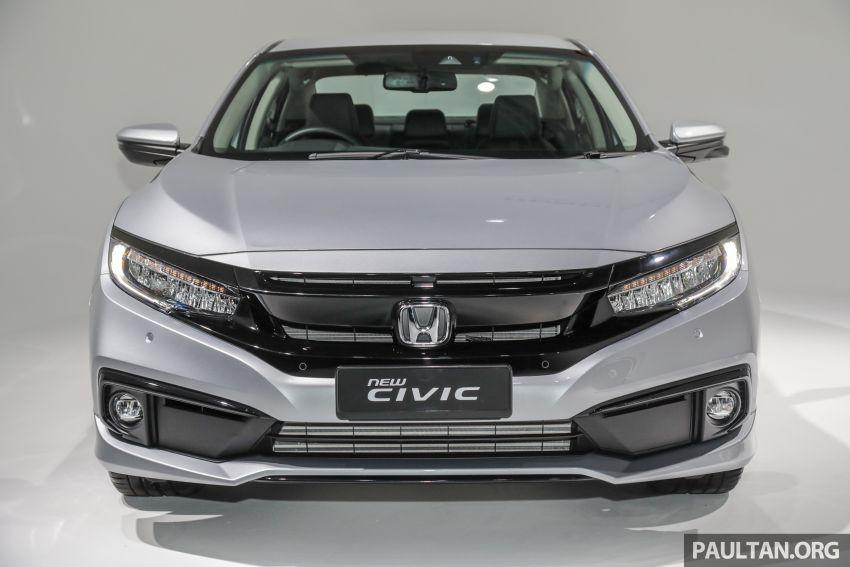 2020 Honda Civic facelift debuts in Malaysia – three variants, 1.8 NA and 1.5 Turbo, RM114k to RM140k Image #1087825
