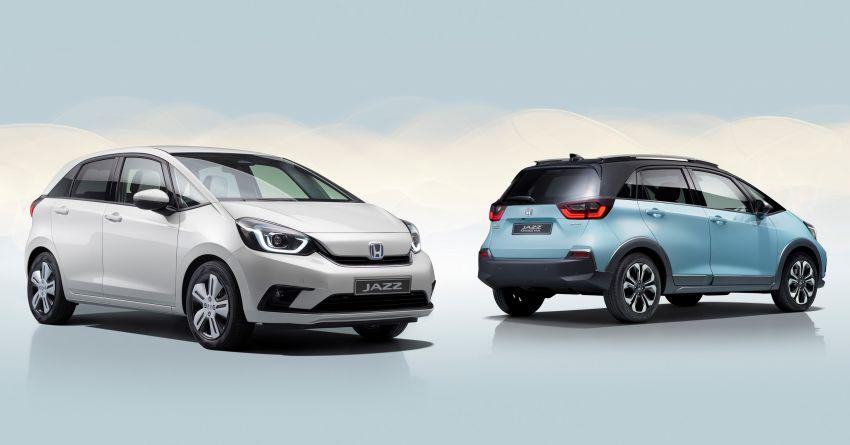 Honda Jazz Hybrid 2020 untuk Eropah – penjana kuasa 1.5 liter i-MMD; 109 PS dan 253 Nm; 4.5 l/100km Image #1081473