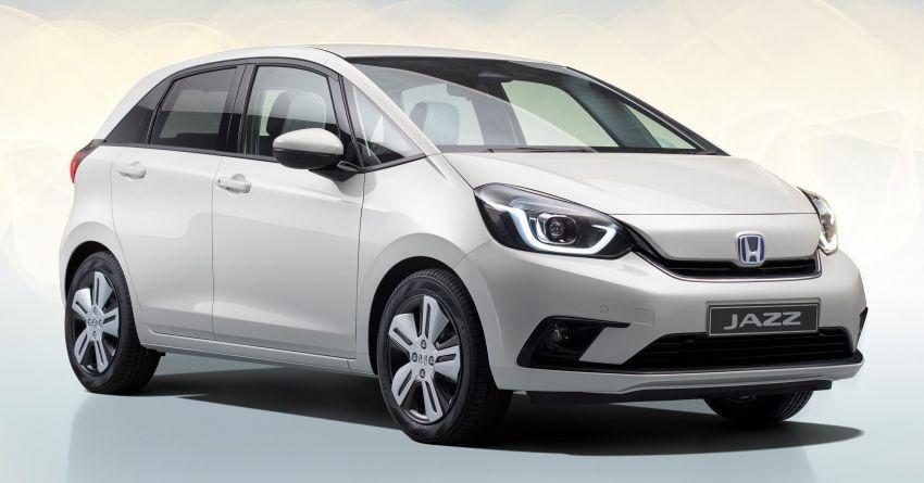 Honda Jazz Hybrid 2020 untuk Eropah – penjana kuasa 1.5 liter i-MMD; 109 PS dan 253 Nm; 4.5 l/100km Image #1081474