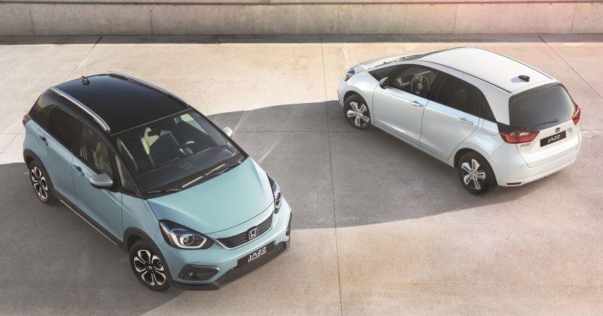 Honda Jazz Hybrid 2020 untuk Eropah – penjana kuasa 1.5 liter i-MMD; 109 PS dan 253 Nm; 4.5 l/100km Image #1081509