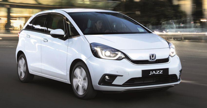 Honda Jazz Hybrid 2020 untuk Eropah – penjana kuasa 1.5 liter i-MMD; 109 PS dan 253 Nm; 4.5 l/100km Image #1081512