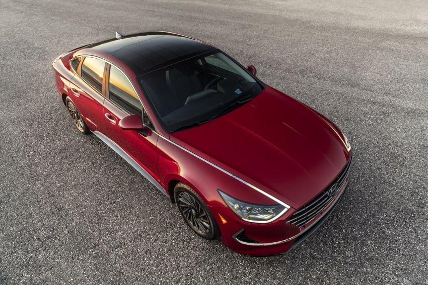 2020 Hyundai Sonata Hybrid now in the US – 18.4 km/l Image #1078238