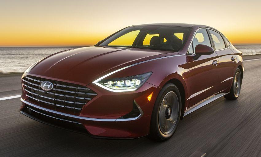 2020 Hyundai Sonata Hybrid now in the US – 18.4 km/l Image #1078239