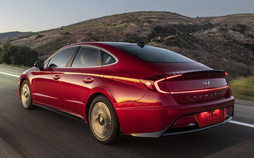 2020 Hyundai Sonata Hybrid now in the US – 18.4 km/l Image #1078240