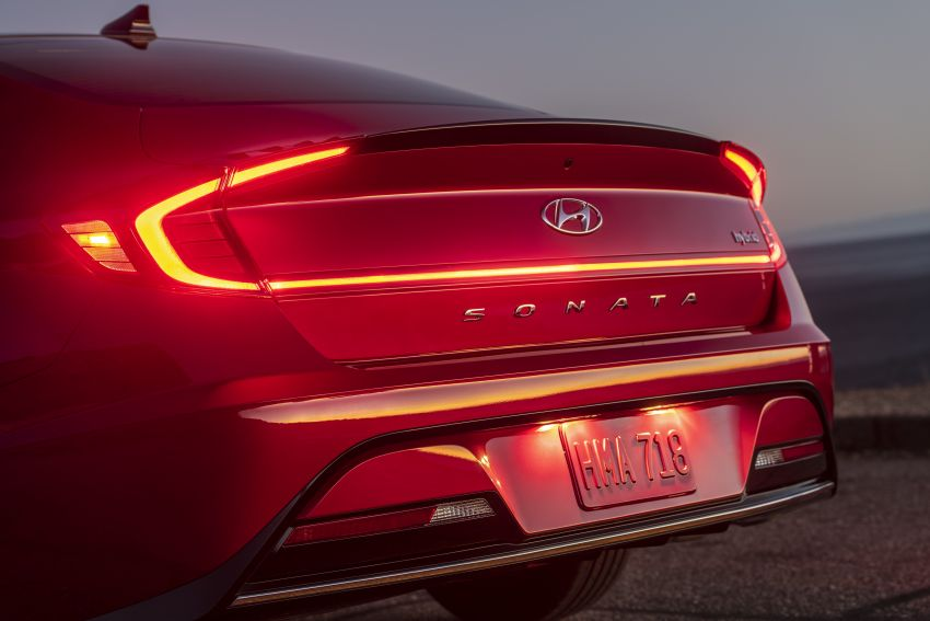 2020 Hyundai Sonata Hybrid now in the US – 18.4 km/l Image #1078234