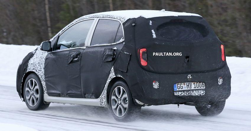 SPYSHOTS: 2020 Kia Picanto facelift seen in Sweden Image #1076287