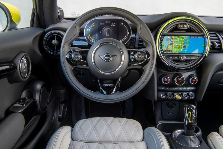 2020 MINI Cooper SE – more technical details revealed Image #1076075