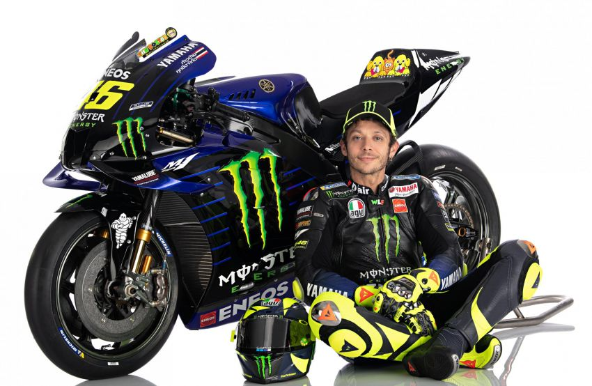 2020 MotoGP: Monster Energy Yamaha YZR-M1 Image #1079296