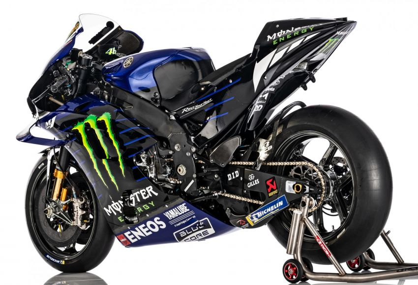 2020 MotoGP: Monster Energy Yamaha YZR-M1 Image #1079319