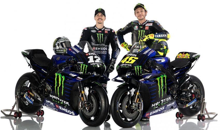 2020 MotoGP: Monster Energy Yamaha YZR-M1 Image #1079299