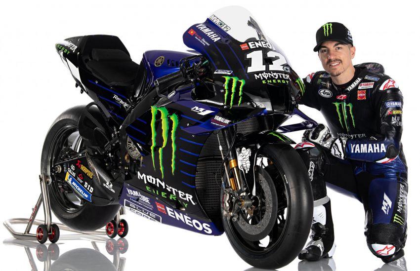 2020 MotoGP: Monster Energy Yamaha YZR-M1 Image #1079302