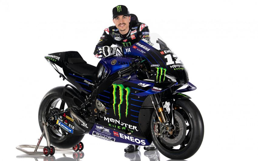 2020 MotoGP: Monster Energy Yamaha YZR-M1 Image #1079303