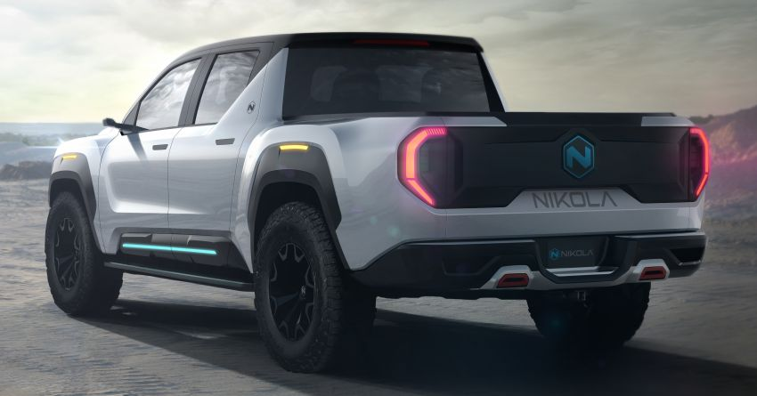 2020 Nikola Badger FCEV takes on Tesla Cybertruck – up to 965 km range, functions in sub-zero conditions Image #1079781