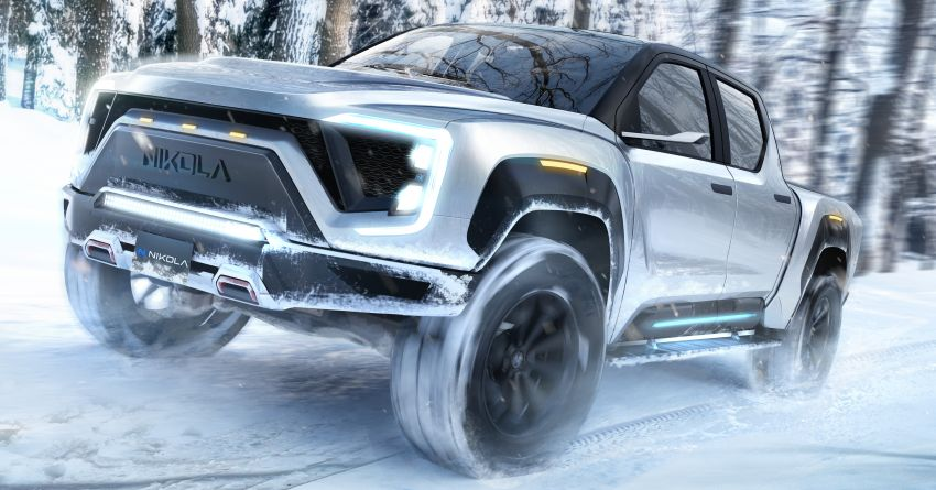 2020 Nikola Badger FCEV takes on Tesla Cybertruck – up to 965 km range, functions in sub-zero conditions Image #1079783