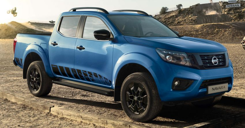 2020 Nissan Navara N-Guard debuts in Europe – new Electric Blue paint, NissanConnect with Apple CarPlay Image #1083061