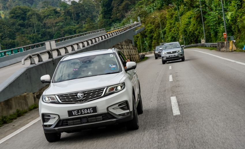DRIVEN: 2020 Proton X70 CKD with 7DCT full review Image #1080231