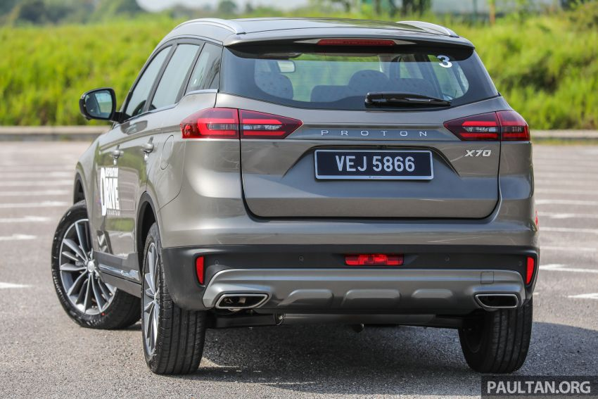 2020 Proton X70 CKD launched: Volvo 7DCT, +15 Nm, 13% better economy, more features, RM95k to RM123k Image #1078566