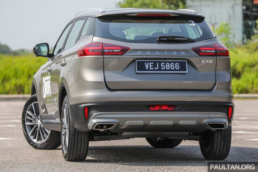 2020 Proton X70 CKD launched: Volvo 7DCT, +15 Nm, 13% better economy, more features, RM95k to RM123k Image #1078567